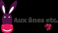 Logo Aux Ânes Etc format portait